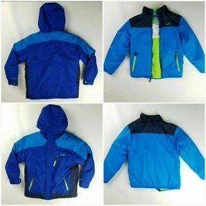 Champion Coat 3 in 1 Blue Water/Wind Resistant M